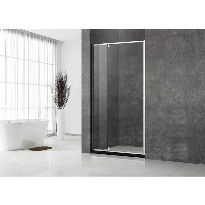 Душевая дверь Veconi Vianno 70x195 стекло прозрачное, профиль хром (VN32-70-01-C5)