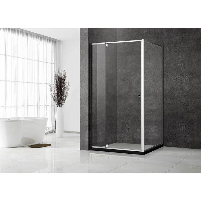 Душевой уголок Veconi Rovigo 110х70 стекло прозрачное, профиль хром (RV032-11070-01-C5)