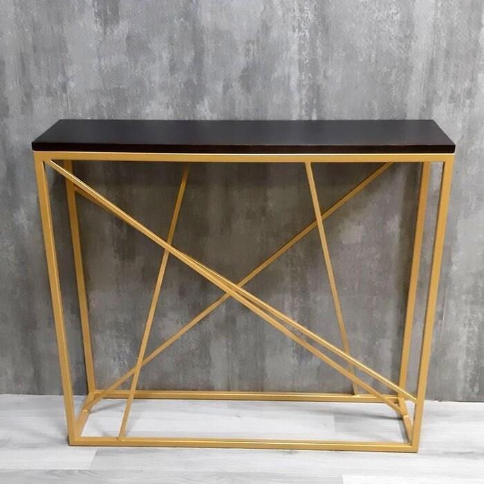 Фото - Напольная консоль Akur Loft Fullerton металлокаркас золото декор венге mark d fullerton greek sculpture
