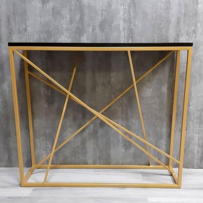 Фото - Напольная консоль Akur Loft Fullerton металлокаркас золото декор черный mark d fullerton greek sculpture
