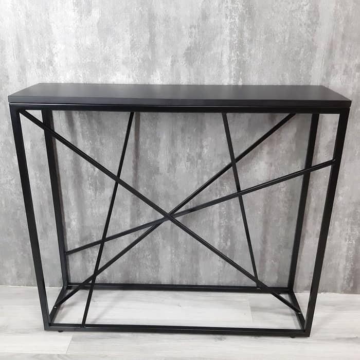 Фото - Напольная консоль Akur Loft Fullerton металлокаркас черный декор черный mark d fullerton greek sculpture