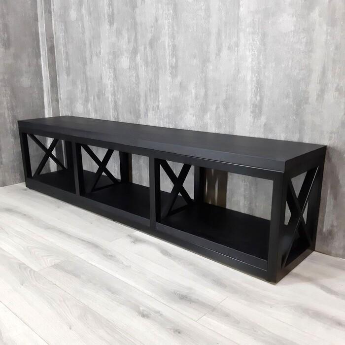 Тумба Akur Loft Tacoma металлокаркас черный декор