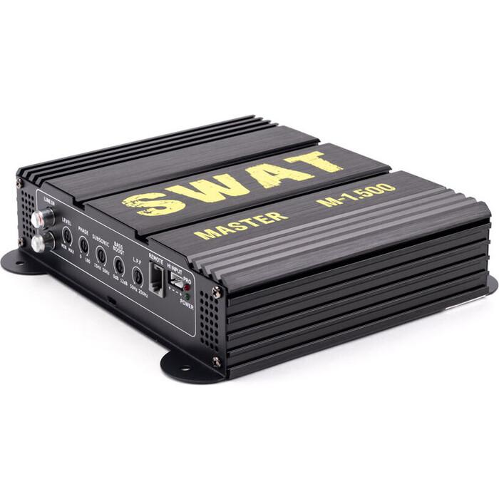 Автоусилитель SWAT M-1.500/ Усилитель цифровой 1.500 Вт (class D)