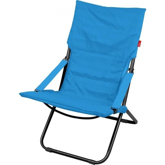 Кресло-шезлонг Nika ННК 4/B синий до 100 кг