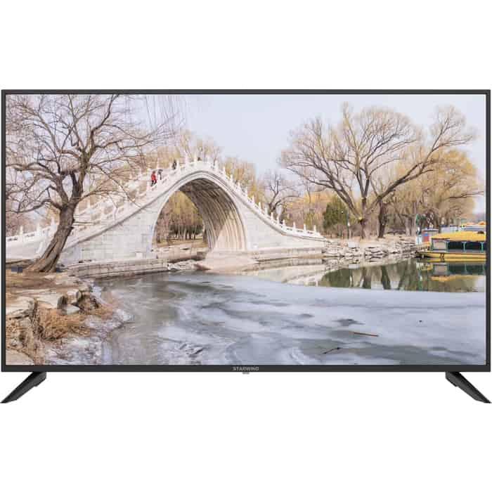 Фото - LED Телевизор StarWind SW-LED55UA403 Smart телевизор starwind sw led50ua403 50 ultra hd 4k