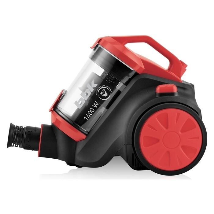 Безмешковой пылесос BBK BV1507 red/black
