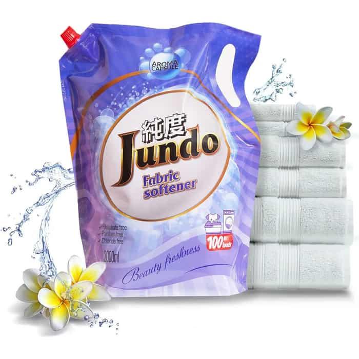 Кондиционер Jundo Beauty Freshnes Aroma Capsule концентрированный 2 л, 100 стирок