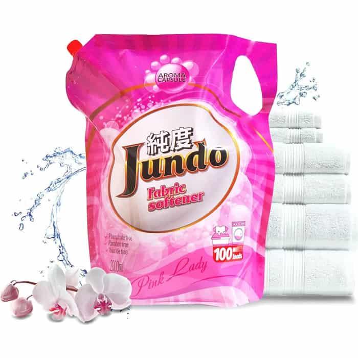 Кондиционер Jundo Pink Lady Aroma Capsule концентрированный 2 л, 100 стирок