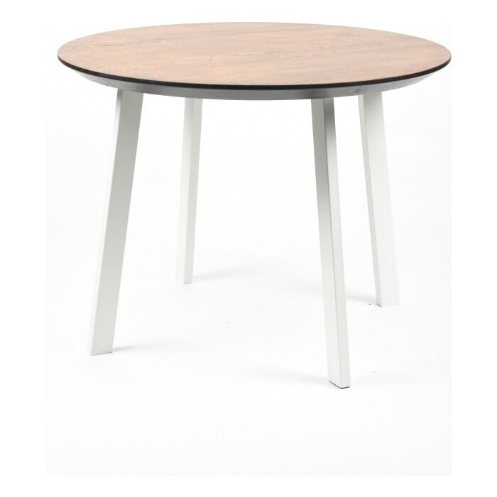 Фото - Обеденный стол Wisti Юта 80 мореный/белый wisti журнальный стол ривер мореный черный