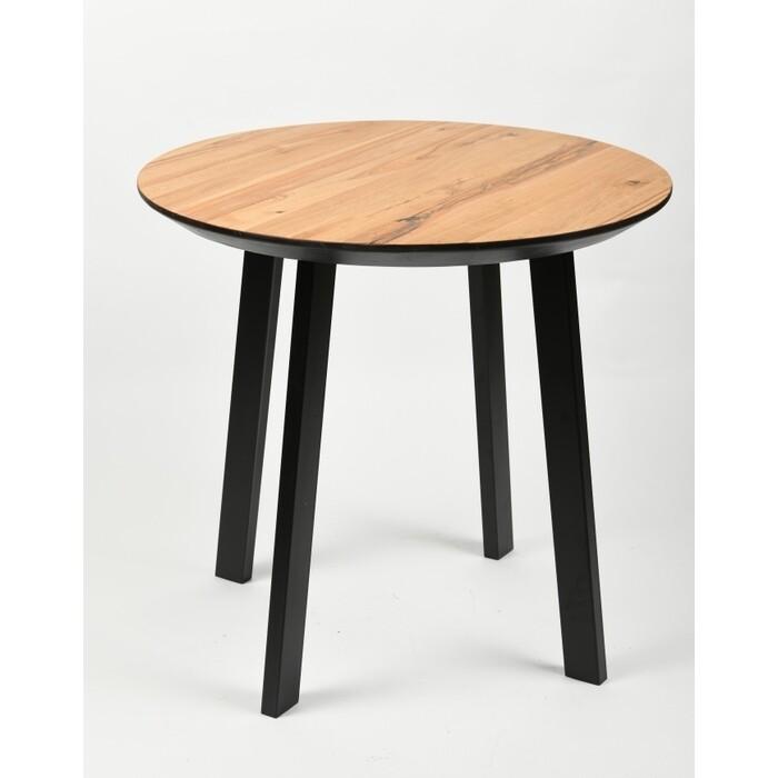 Обеденный стол Wisti Юта 90 натуральный/черный