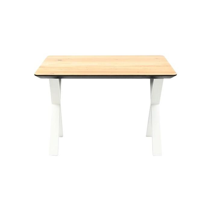 Обеденный стол Wisti Мэн 120 натуральный/белый