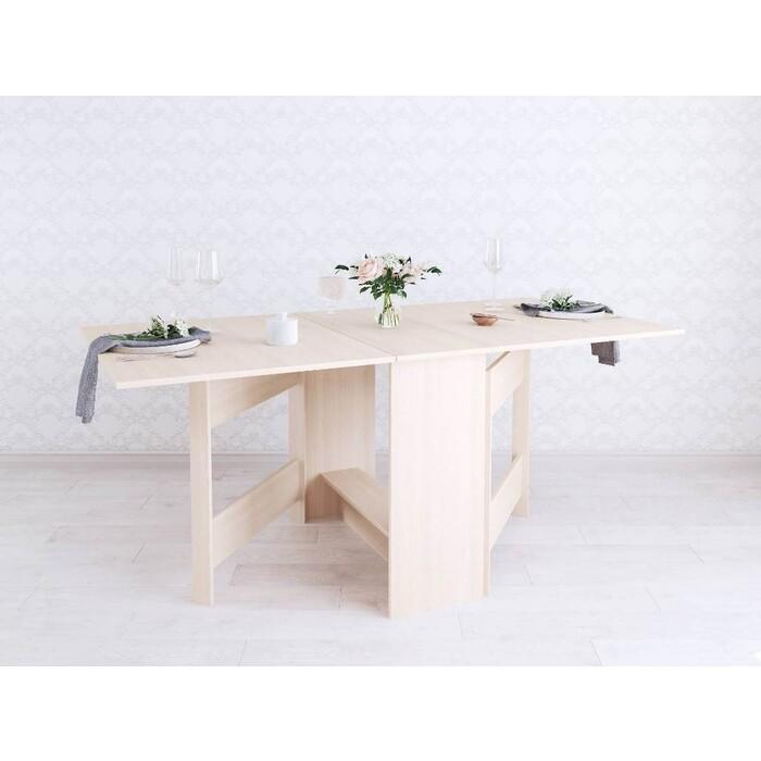 Фото - Wisti Стол-книжка дуб молочный 175 см wisti журнальный стол ривер мореный черный