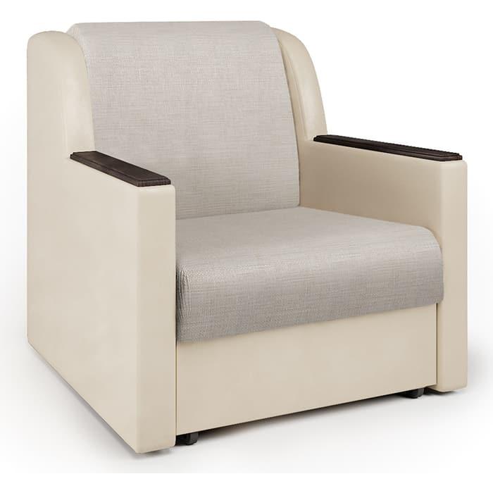 Фото - Кресло-кровать Шарм-Дизайн Аккорд Д экокожа беж и шенилл беж диван кровать шарм дизайн аккорд д 160 экокожа беж и шенилл беж