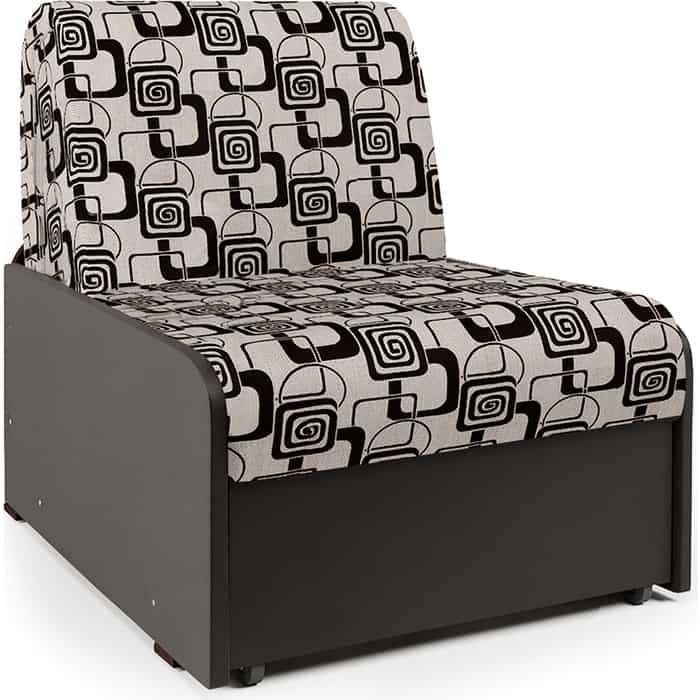 Фото - Кресло-кровать Шарм-Дизайн Коломбо БП шенилл ромб и экокожа шоколад диван кровать шарм дизайн коломбо бп 140 шенилл серый и экокожа черный
