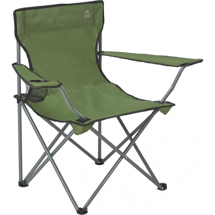 Кресло складное Jungle Camp Ranger Green, кемпинговое, 54х54х80см