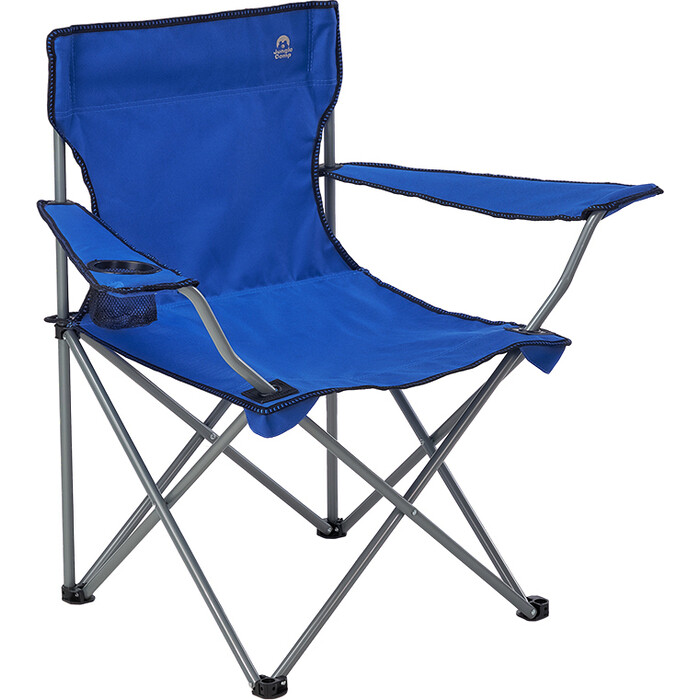 Кресло складное Jungle Camp Ranger Blue, кемпинговое, 54х54х80см