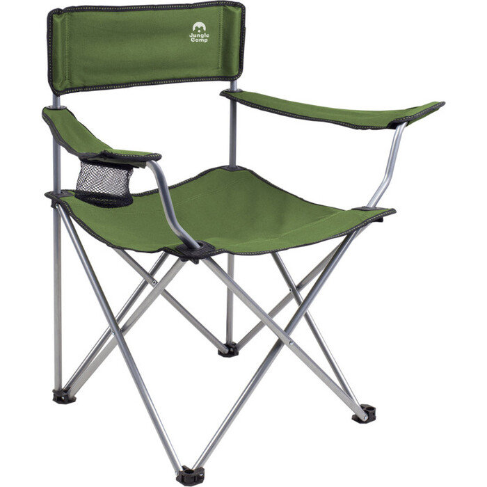 Фото - Кресло складное Jungle Camp Raptor Green, кемпинговое, 50х50х80см комплект jungle camp event set 120 green