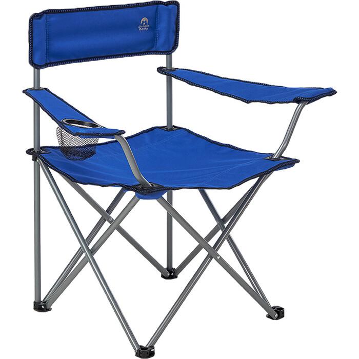 Кресло складное Jungle Camp Raptor Blue, кемпинговое, 50х50х80см