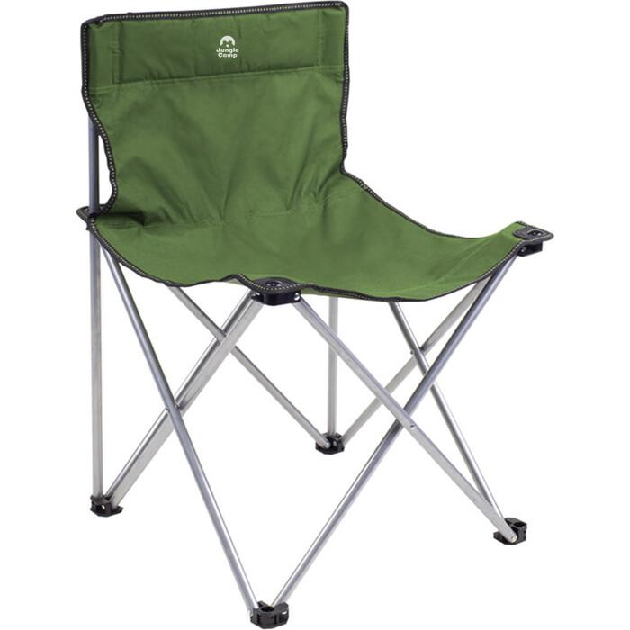 Стул складной Jungle Camp Steper Green, кемпинговый, 49х49x73 см стул подколенник green apple gast04 06 60x26х49 см