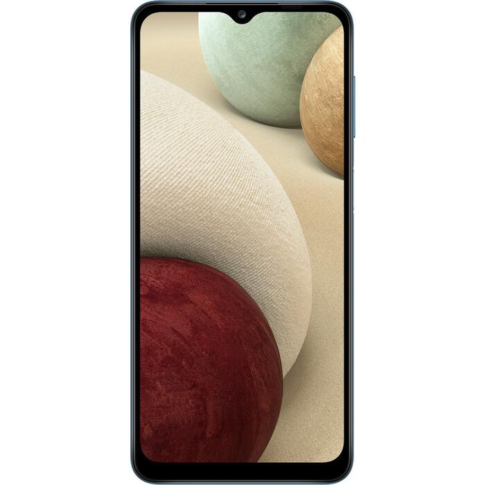 Смартфон Samsung Galaxy A12 3/32Gb синий смартфон samsung galaxy a12 sm a125 3 32gb черный