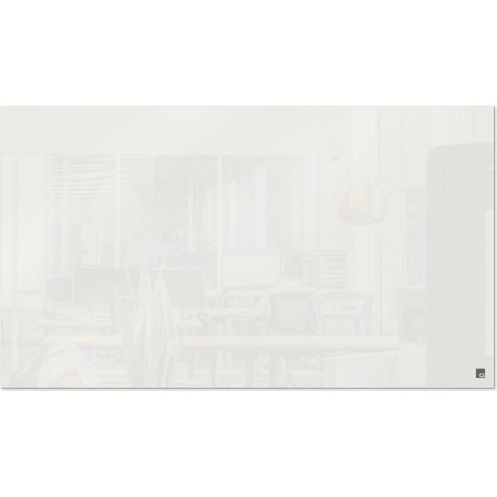Стеклянная магнитно-маркерная белая доска Genglass Face F120200-01