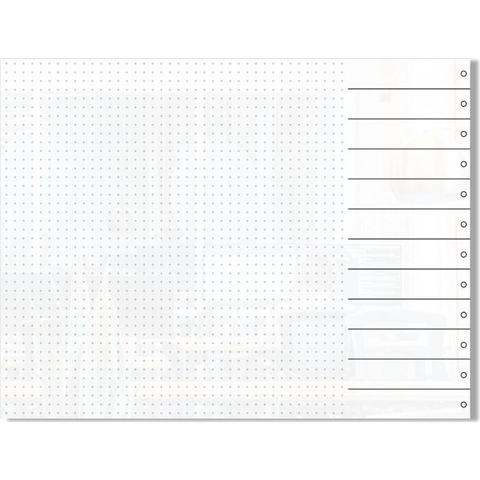 Стеклянный планер дизайнерский планинг Genglass Design D6080-03