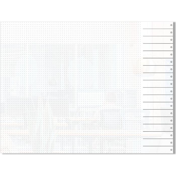 Стеклянный планер дизайнерский планинг Genglass Design D90120-03
