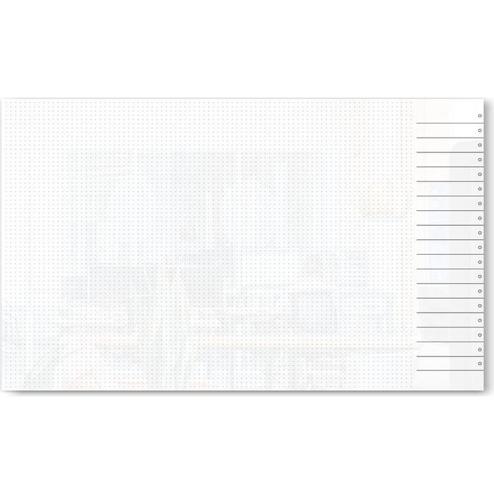 Стеклянный планер дизайнерский планинг Genglass Design D100150-03