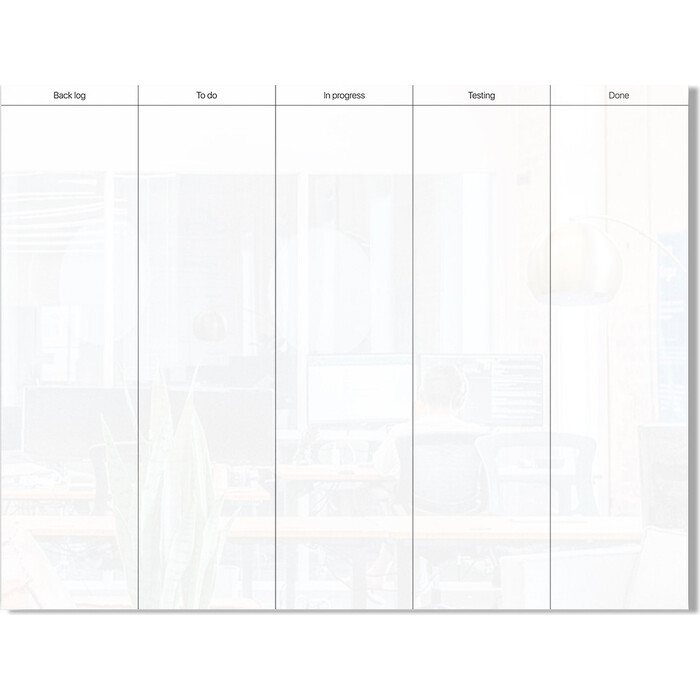 Стеклянный планер scrum Genglass Design D90120-01