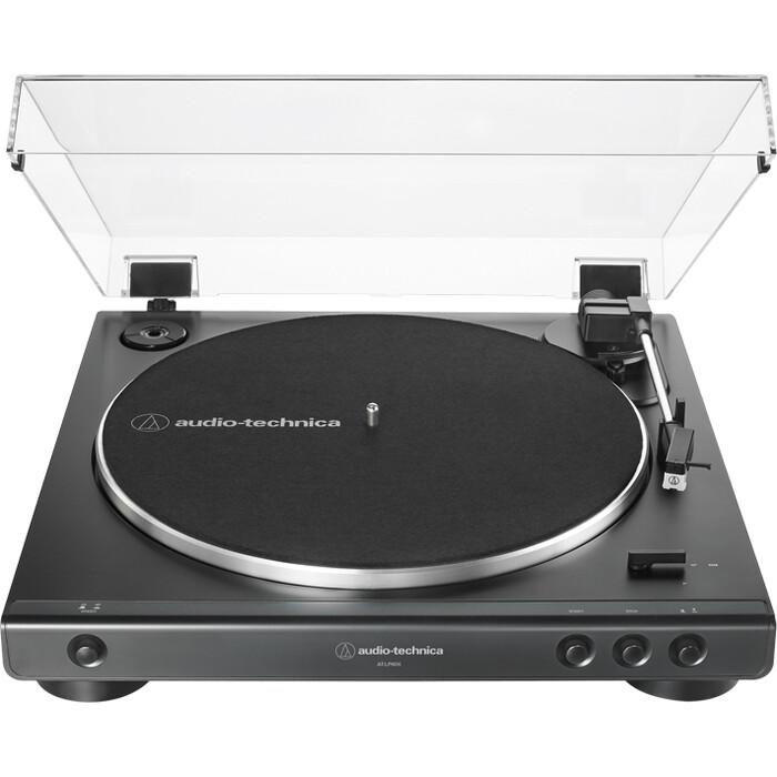 Виниловый проигрыватель Audio-Technica AT-LP60X black