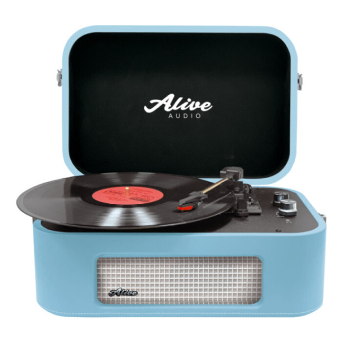 Фото - Виниловый проигрыватель Alive Audio STORIES Turquoise c Bluetooth stories for kids