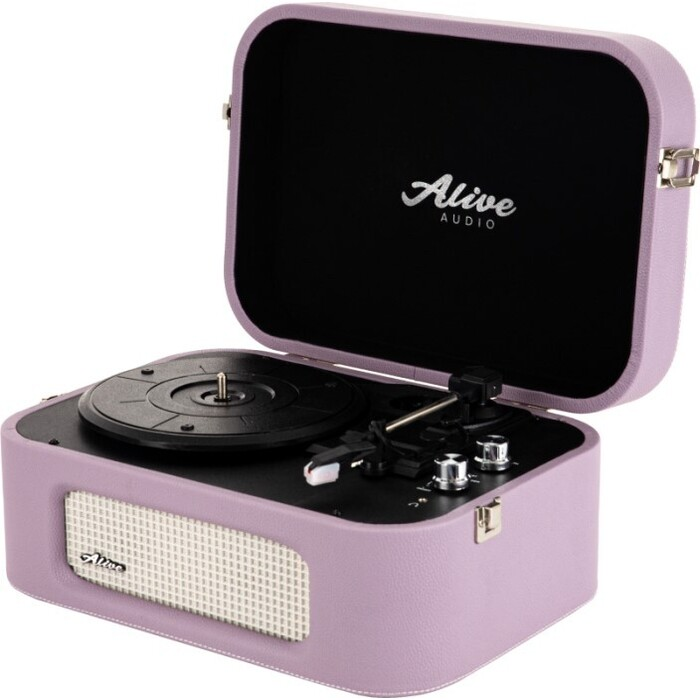 Фото - Виниловый проигрыватель Alive Audio STORIES Lilac c Bluetooth stories for kids