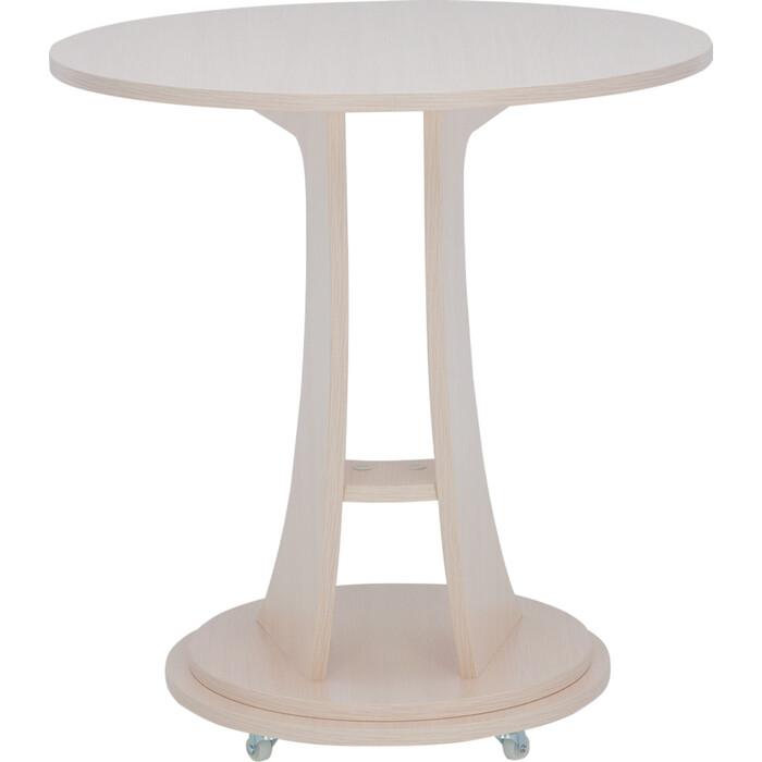 Подкатной столик Leset Акцент 2 молочный дуб