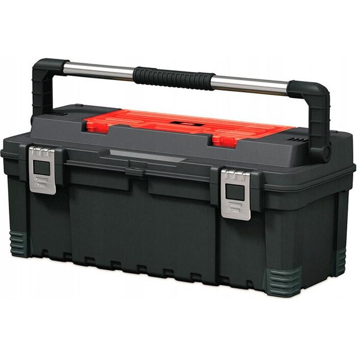 Ящик для инструментов Keter 26 Hawk Tool box -BLACK -STD EuroPRO (237784) ящик для инструментов keter gear tool box 17200382