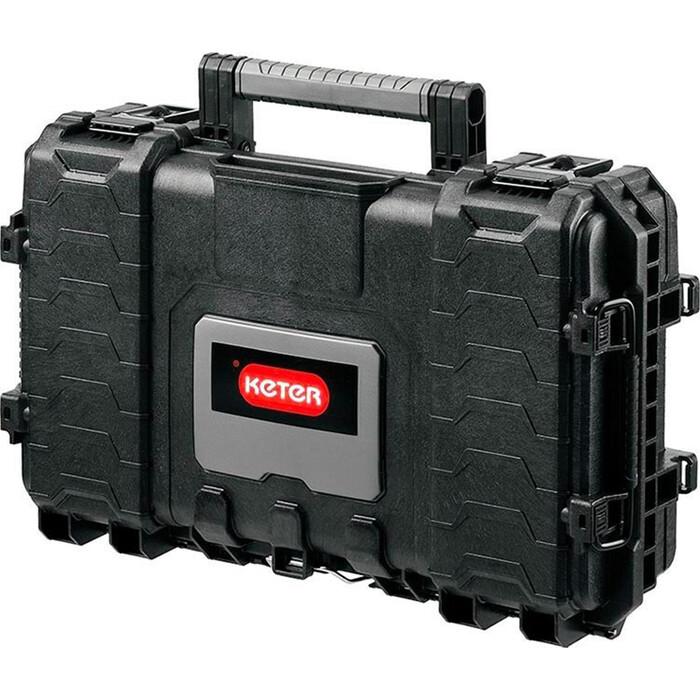 Ящик для инструментов Keter 22 Gear organizer -BLACK-STD EuroROC (236893)