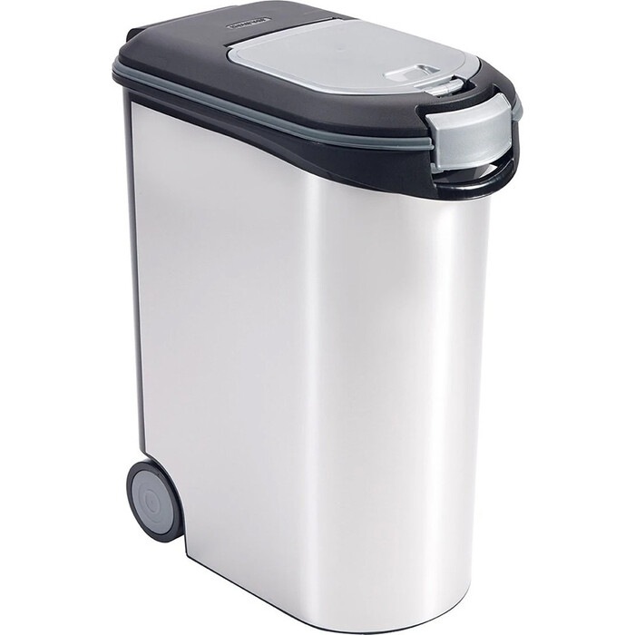 Контейнер для корма CURVER 20KG FOOD CONTAINER-BLK394 black 27,8x60,5x49,2см (214477)
