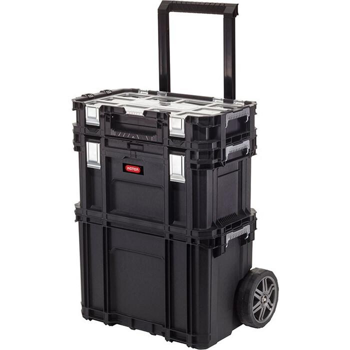 Ящик для инструментов Keter Connect Rolling System BLACK (238273)
