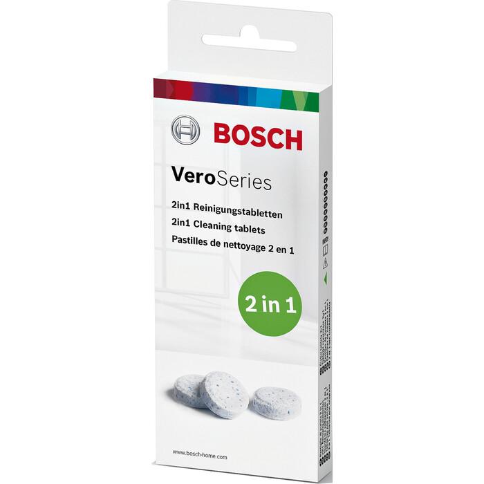 Чистящие таблетки Bosch TCZ8001A для кофемашин Bosch, 10 шт.