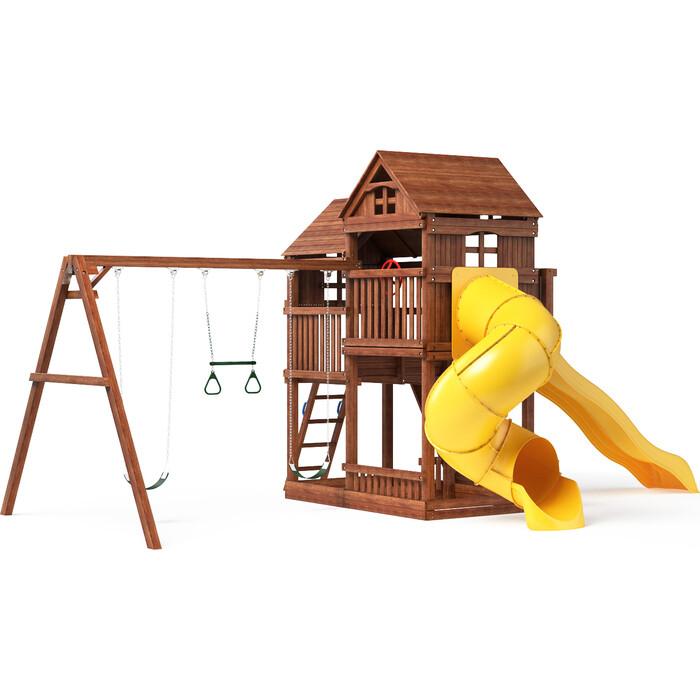 Детский игровой комплекс Можга Красная Звезда Р955 с трубой