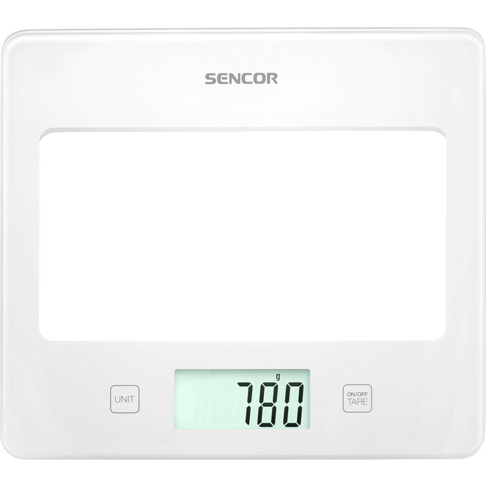 Фото - Кухонные весы Sencor SKS 5020WH кухонные весы sencor весы кухонные sks 7001