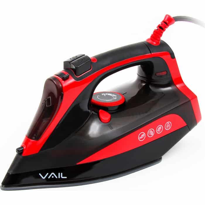Утюг VAIL VL-4000 черно-красный