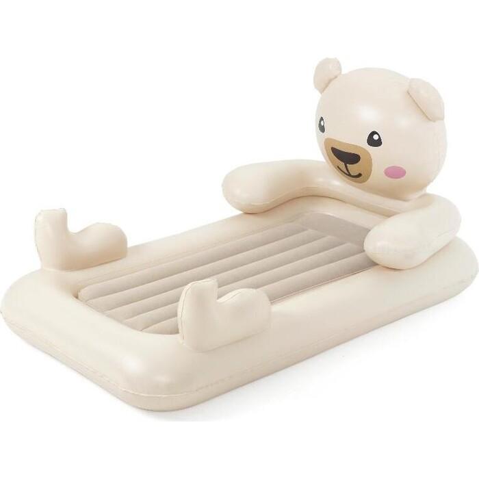 Детский надувной матрас Bestway Мишка 109х188х89см, 67712 BW