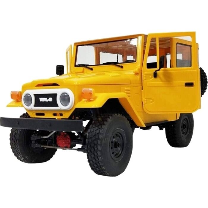 Радиоуправляемый внедорожник WPL Buggy Crawler RTR 4WD масштаб 1:16 2.4G - WPLC-34-Yellow радиоуправляемый краулер wpl 4wd rtr масштаб 1 16 2 4g wplc 14r yellow