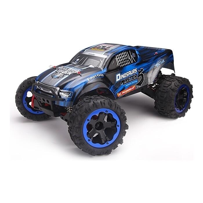 Радиоуправляемый монстр Remo Hobby Dinosaurs Master 5 4WD RTR масштаб 1:8 2.4G - RH8036-BLUE
