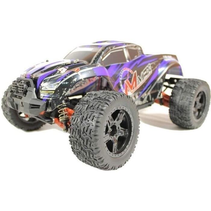 Радиоуправляемый монстр Remo Hobby MMAX UPGRADE 4WD RTR масштаб 1:10 2.4G - RH1035UPG-BLUE