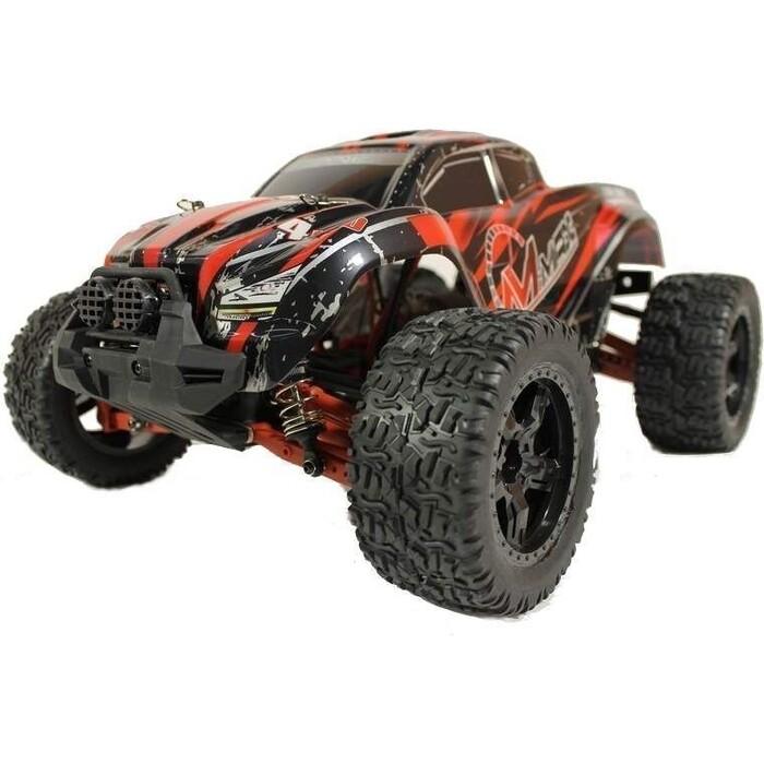 Радиоуправляемый монстр Remo Hobby MMAX UPGRADE 4WD RTR масштаб 1:10 2.4G - RH1035UPG-RED