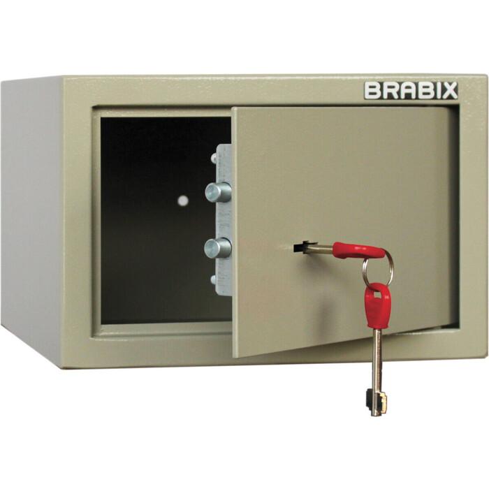 Сейф мебельный Brabix D-18m ключевой замок крепление к стене 291161