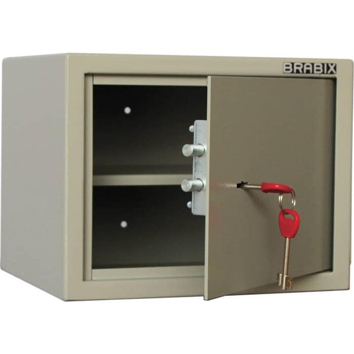 Сейф мебельный Brabix D-24m ключевой замок крепление к стене 291162