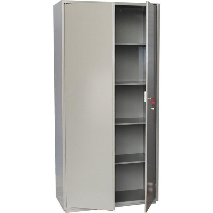 Шкаф металлический для документов Brabix KBS-10 2 отделения, сварной 291159 стеллаж miolla kbs 12