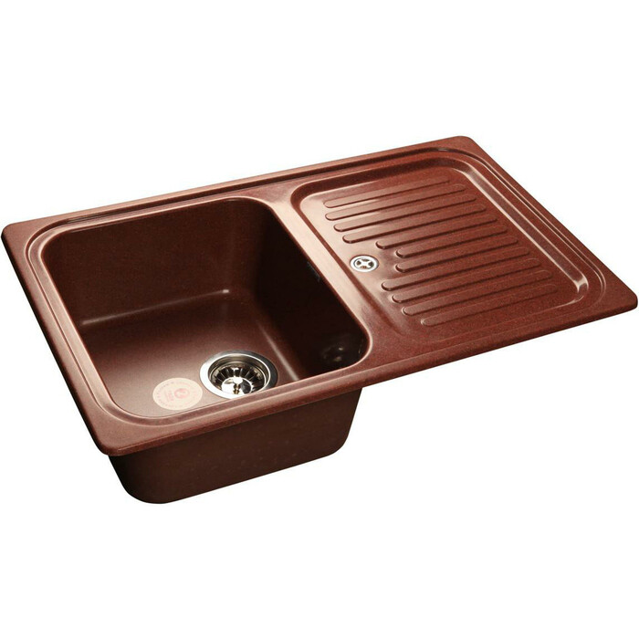 Кухонная мойка GranFest Standart GF-S780L красный марс